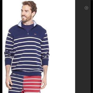 Vineyard Vines Target Men 1/4 zip pullover